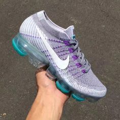 55a011a466 Preview: Nike Air VaporMax Flyknit Grape - EU Kicks: Sneaker Magazine  Running Sneakers,