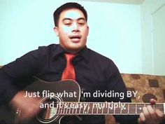 """Dividing fractions """"I Can Divide"""""""