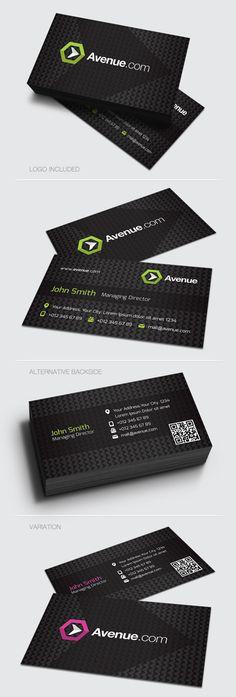 Corporate Business Card #businesscards #printready #letterpress #creativedesign #graphicdesign