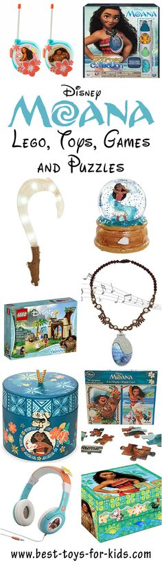 Disney Moana Lego, Toys and Games