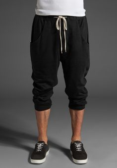 SHADES OF GREY BY MICAH COHEN The Trainer Fleece Drop Crotch Sweatpant. Comfy!