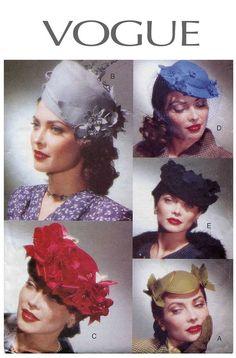 Vogue 7325 6 Vintage 1940s/1950s Style by DesignRewindFashions, $27.00
