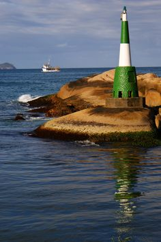 Lighthouse, Barra da Lagoa, Santa Catarina, Brazil- by Vicentte Jalowitzki de Quadros