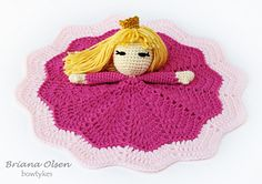 Pretty Princess Lovey $4.50 for pattern