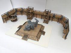 angry badger barricade kit full set terrain 16