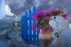 Village of Ios, Santorini Island, Greece, by Jim Zuckerman