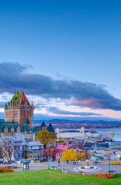 Ornate French fortresses await in Quebec City. Discover their charm in the comfort of Holland America's classic style.
