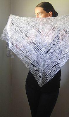 Wraith by Lisa Mutch  - lovely lightweight summer knitting  #SomethingForTheWeekend #FridayOneSkein