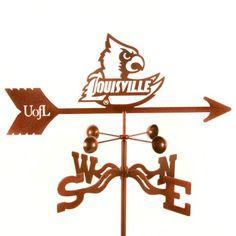 University of Louisville Cardinals weathervane