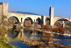 The charming village of Besalu in Catalonia, Spain.