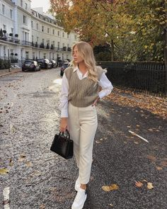 Casual Work Outfits, Mode Outfits, Classy Outfits, Stylish Outfits, Winter Fashion Outfits, Look Fashion, Spring Outfits, Girl Fashion, Pijamas Women