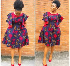 African print dress coined from quality fabric. Available as custom order or in size. Please attach shoulder and upper arm circumference to order and phone number for easy shipping. Look below our size chart UK US 0 - Bust : 30 Waist : Hip: 3 African Fashion Designers, African Fashion Ankara, Latest African Fashion Dresses, African Print Fashion, Africa Fashion, African Style, Short African Dresses, African Print Dresses, Ankara Dress Styles