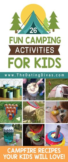 Exciting  Camping Activities for Kids...