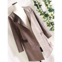 メルカリ商品: 【新品】0695【L】大人かっこいい フェイクスウェード コート MO #メルカリ
