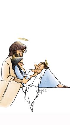 te- You are in the right place about love images Here we off. Catholic Art, Religious Art, Jesus Smiling, Jesus Artwork, Jesus Painting, Christmas Drawing, Jesus Pictures, Holy Family, Love Images