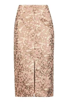 Camouflage Jacquard Pencil Skirt