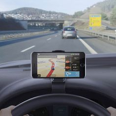 Universal NonSlip Dashboard Car Mount Holder Adjustable for iPhone iPad Samsung GPS Smartphone