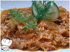 lachanoryzo (rice with cabbage) Greek Recipes, My Recipes, Recipies, Cookbook Recipes, Cooking Recipes, Cooking Food, English Food, English Recipes, No Cook Meals