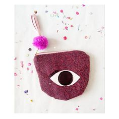 Eye festive Pouch by Tiger season https://www.kichink.com/stores/tiger-season