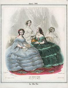 Le Bon Ton April 1859 LAPL