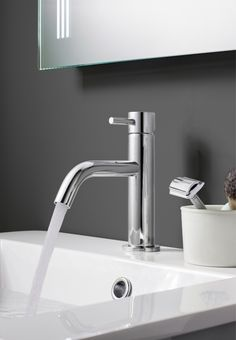 The established choice for high quality bathrooms, MPRO delivers the very best in brassware engineering. Chrome, The Hamptons, Yellow Bathrooms, Bath Taps, Bathroom Space, Bathroom Trends, Bathroom Suite, Basin Taps, Sink