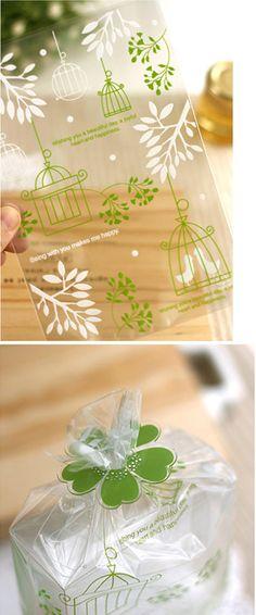 bird cage treat bags