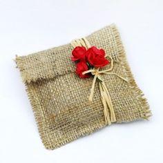 Jüt zarf, minik Craft Stick Crafts, Felt Crafts, Wedding Flavors, Happy Jar, Homemade Wedding Favors, Gift Wraping, Burlap Bags, Jute, Wedding Gift Wrapping
