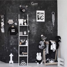 Chalkboard paint for children's rooms