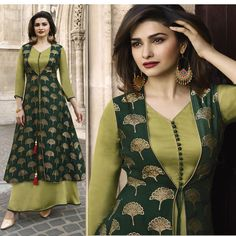 Party wear Designer Indian stone embroidery long Dress Kurti for UK Women & GirlWomen S Fashion Chain Crossword Code: for Mas new dress Kurti Neck Designs, Dress Neck Designs, Kurti Designs Party Wear, Mode Abaya, Mode Hijab, Party Wear Maxi Dresses, Party Wear Indian Dresses, Party Wear Kurtis, Party Dress