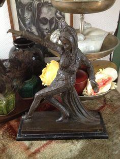 A very attractive Bronze Art Deco dancer by Adfabrum on Etsy, €120.00