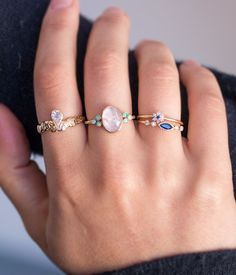 Full Moon Rising Ring - Audry Rose