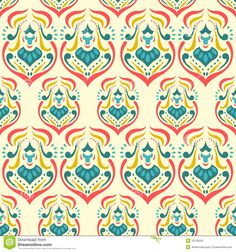 Damask Pattern Royalty Free Stock Images - dutch drips