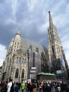 Ponadczasowa katedra - Stephansdom   Z Alicją przez Wiedeń