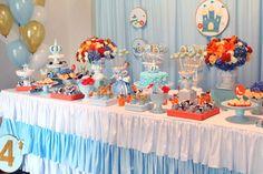 cinderella party table Fairytale Birthday Party, Rapunzel Birthday Party, Cinderella Birthday, Ballerina Birthday, Pig Birthday, Boy Birthday Parties, Birthday Celebration, Girl Parties, Birthday Stuff