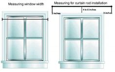 Start with the window width and make adjustments to account for rod placement.