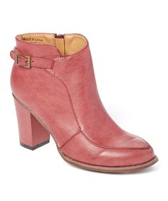 Take a look at this Sould Out Red Buckle Bootie today!