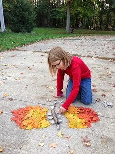 Inside Outside Michiana: Leaf Art