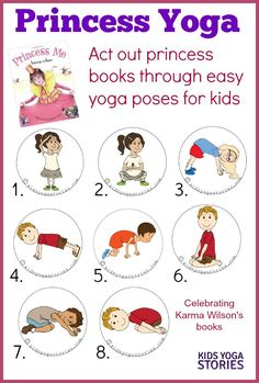 Princess Yoga: act out princess books through easy yoga poses for kids