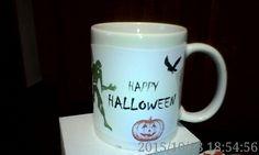 Poze Cana Halloween L Halloween 2015, Happy Halloween, Mugs, Tableware, Dinnerware, Mug, Dishes, Cups, Porcelain Ceramics