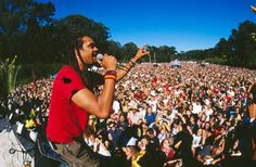 Michael Franti & Spearhead- Power to the Peaceful Festival in Frisco- 2002