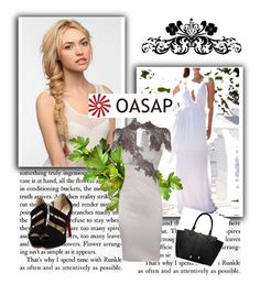 """www.oasap.com"" by hanifasemic ❤ liked on Polyvore featuring Eva NYC and Michael Kors"