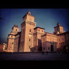Ferrara, Castello Estense - Instagram by @gianchi86