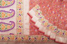 Shivangi Kasliwaal Patan Patola Silk Sari