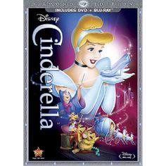 Cinderella Diamond Edition 2 Disc DVD Combo Pack