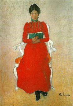 Portrait of Dora Lamm, c.1900, Carl Larsson