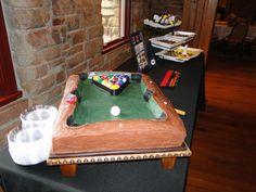 Grooms Cake - Pool Table