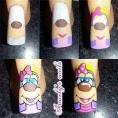 Natural Nail Designs, Cute Nail Art Designs, Beautiful Nail Art, Nail Arts, Natural Nails, Cute Nails, Manicure, Beauty, Art Nails