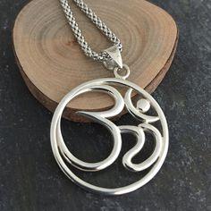 Mens OM Pendant Necklace - Harmony