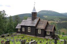 Sollia church built in 1738, Norway