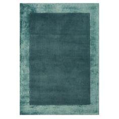 Debenhams Turquoise wool 'Ascot' rug- at Debenhams.com